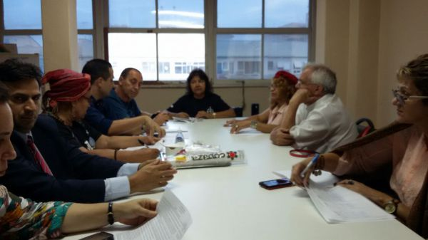 Reunião da Intersindical