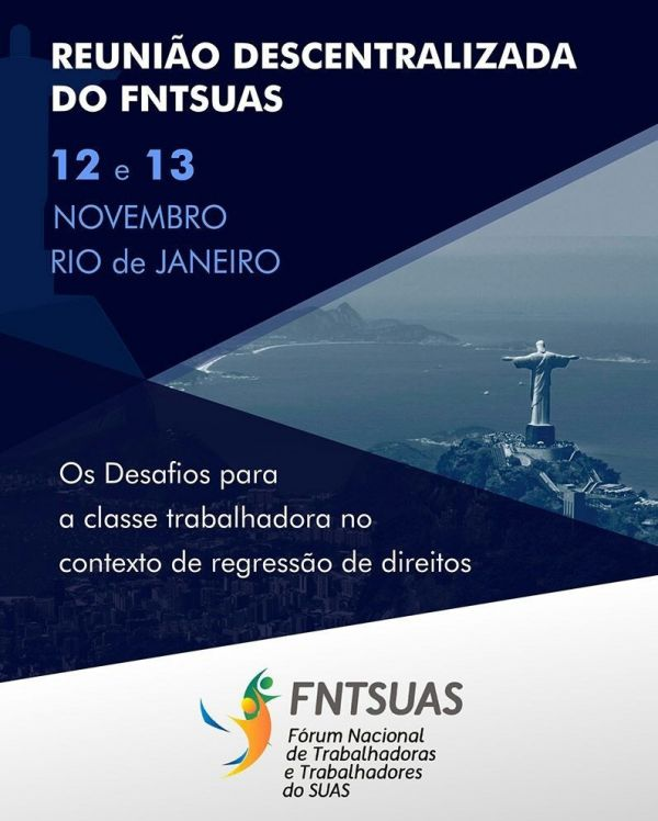 Reunião Descentralizada do FNTSUAS