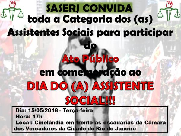 DIA DO (A) ASSISTENTE SOCIAL